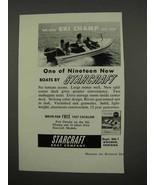 1957 Starcraft Ski Champ Boat Ad - $14.99
