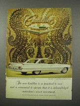 1961 Cadillac Car Ad - So Practical to Own - $14.99