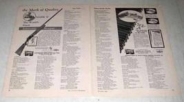 1961 Dakin, Breda Mark II Shotgun Ad - Quality - $14.99