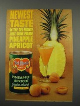 1961 Del Monte Pineapple-Apricot Juice Drink Ad - $14.99
