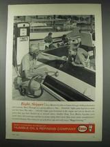 1961 Esso Marine Gasoline Ad - Right, Skipper! - $14.99