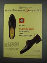 1961 Florsheim Royce 30016 Shoe Ad - Secret of Its Fit - $14.99