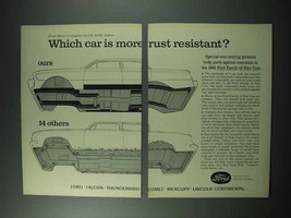 1961 Ford Motor Company Ad - More Rust Resistant - $14.99