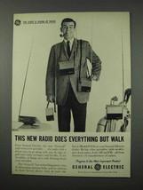 1961 General Electric Model P-870 Portable Radio Ad - $14.99