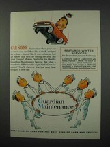 1961 General Motors Ad - Car Saver - $14.99