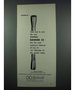 1962 Bushnell Banner 22 Rifle Scope Ad - Expensive - $14.99