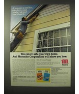 1979 Masonite Hardboard Siding Ad - Re-Side Your Own - $14.99