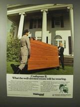 1979 Weldwood Craftsman II Paneling Ad - Well-Dressed - $14.99