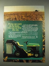 1982 John Deere 111 Lawn Tractor Ad - If You Can Cut It - $14.99