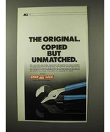 1983 Channellock Pliers Ad - Copied But Unmatched - $14.99