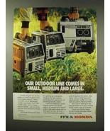 1983 Honda EM500, EM600, EX800 Generator Ad - $14.99