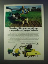 1983 John Deere 216 Tiller, 624 Tiller Ad - Put it Down - $14.99