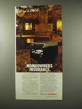 1983 Honda EX5500 Generator Ad - Homeowners Insurance - $14.99