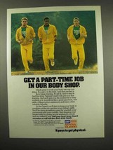 1983 Army National Guard Ad - Job in Body Shop - $14.99