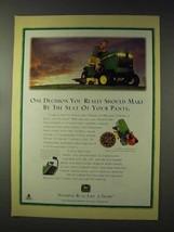 1994 John Deere LX188 Lawn Tractor Ad - Seat of Pants - $14.99