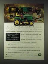 1995 John Deere 345 Lawn and Garden Tractor Ad - $14.99