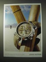2003 Louis Vuitton Watch Ad - $14.99