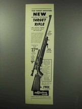 1950 Mossberg #144 Rifle Ad - New Target Rifle - $14.99