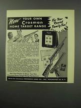 1951 Crosman Targlite, CO2 Pistol and Rifle Ad - $14.99