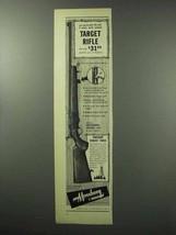 1951 Mossberg Model 144 Rifle Ad - Target Rifle - $14.99