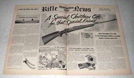 1951 Remington 722 Rifle Ad - Special Christmas Gift - $14.99