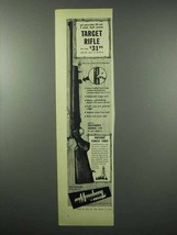 1953 Mossberg Model 144 Target Rifle Ad - Accurate - $14.99