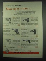1954 Beretta Gun Ad - Bantam, Minx M-4, Jetfire, Puma - $14.99
