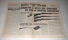 1956 Remington Model 572, 550, 512 Rifle Ad - Big Edge - $14.99