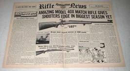 1956 Remington 40x Match Rifle Ad - Amazing - $14.99