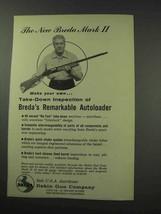 1959 Dakin Breda Mark II Shotgun Ad - Inspection - $14.99