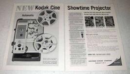 1959 Kodak Cine Showtime Movie Projector A20 Ad - $14.99