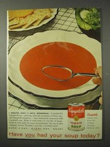 1958 Campbell's Tomato Soup Ad - Have You Had? - $14.99