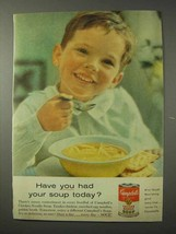 1958 Campbell's Chicken Noodle Soup Ad - Have You Had? - $14.99
