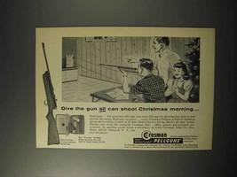 1958 Crosman 10-Shot Repeater Model 400 Rifle Ad - $14.99