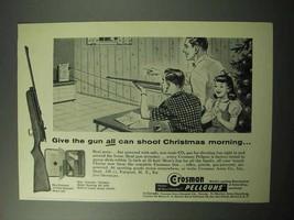 1958 Crosman Ad - 10-Shot Repeater Model 400 - $14.99