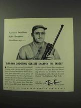 1959 Ray-Ban Shooting Glasses Ad - John Moschkau - $14.99