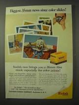 1958 Kodak Film Ad - Biggest 35mm News Since Color - $14.99