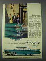 1959 Cadillac Car Ad - Most Eloquent Possession - $14.99