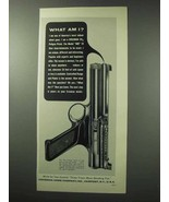 1962 Crosman Model 600 Pistol Ad - What Am I? - $14.99