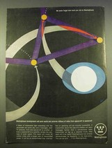 1963 Westinghouse Products Ad - Art by Bayer - $14.99