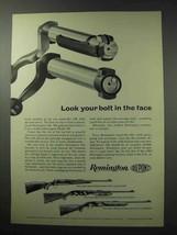1962 Remington Model 700, 760 and 742 Rifle Ad - $14.99