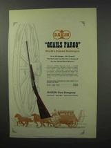 1963 Dakin Quails Fargo Shotgun Ad - $14.99