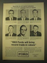 1963 Ford Motor Company Ad - No-Ax-To-Grind - $14.99