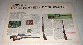 1969 Remington Ad - 760, 742 ADL, 788, 660, 700 Rifle - $14.99