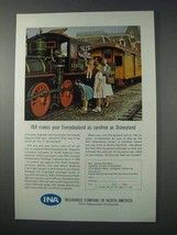 1963 INA Insurance Company of North America Ad - Disney - $14.99