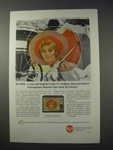 1963 RCA Radnor Television Ad - New Brighter Color - $14.99