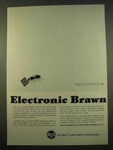 1963 RCA Semiconductor, REALCOM 3301 Computer Ad - $14.99
