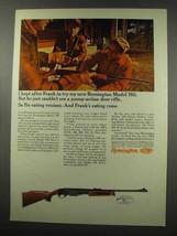 1966 Remington Model 760 Rifle Ad - I'm Eating Venison - $14.99