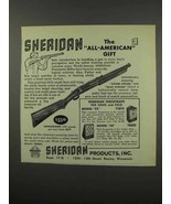 1967 Sheridan Silver Streak Air Rifle Ad - All-American - $14.99