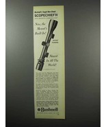 1968 Bushnell Scopechief IV Scope Ad - Mount's Built-in - $14.99